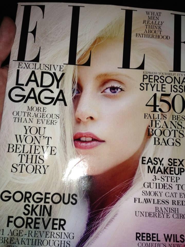 ELLE Lady Gaga