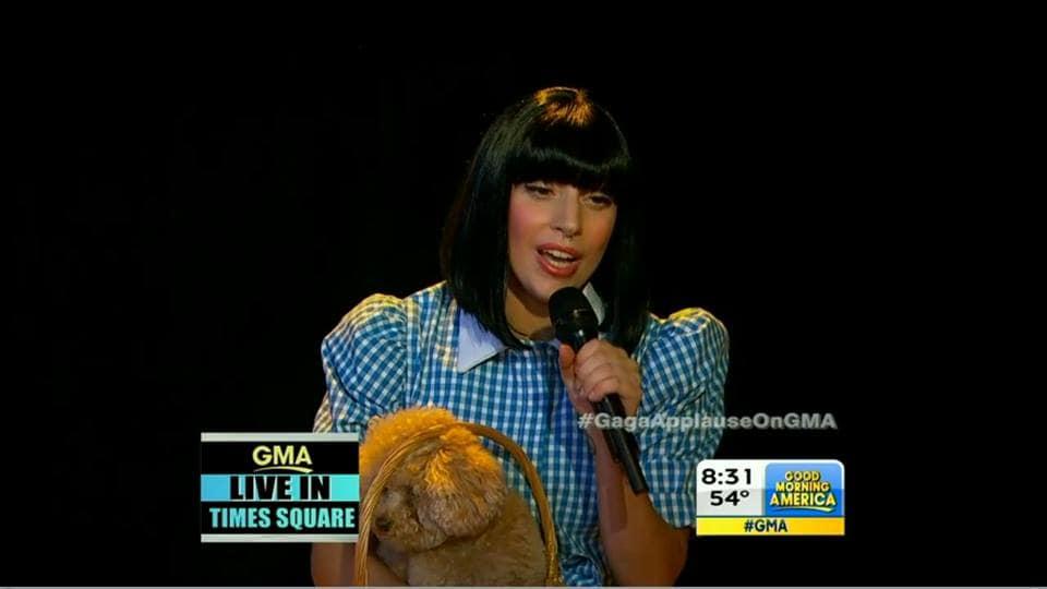 Lady Gaga Dorothy