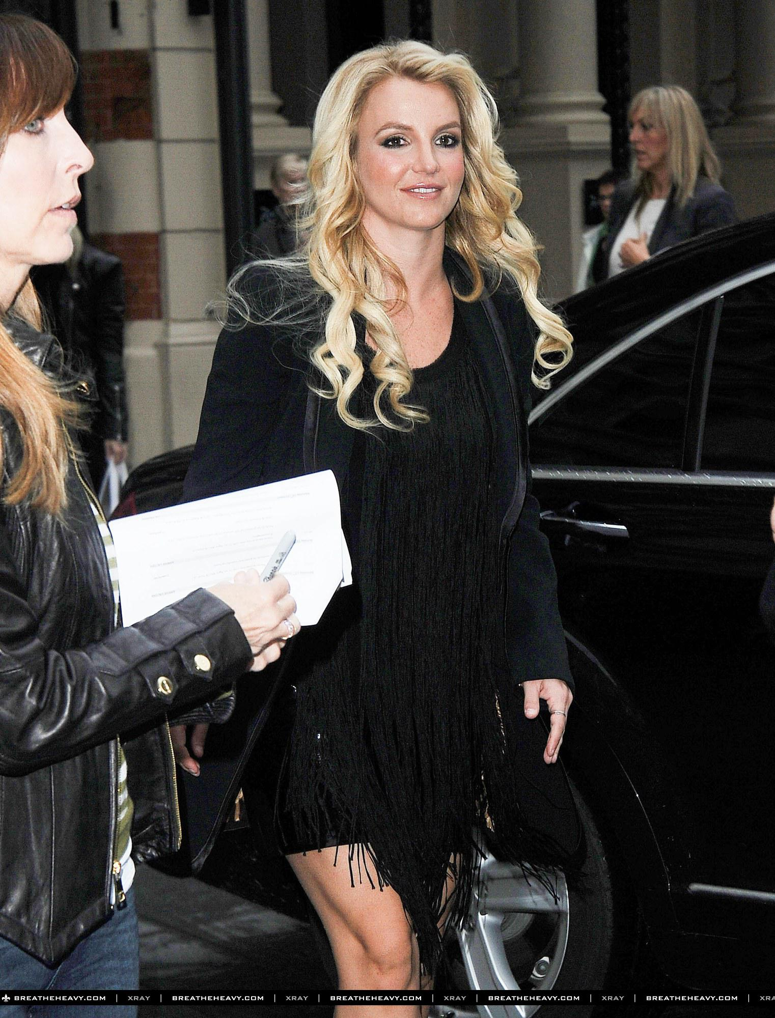 Britney Spears Londra 2