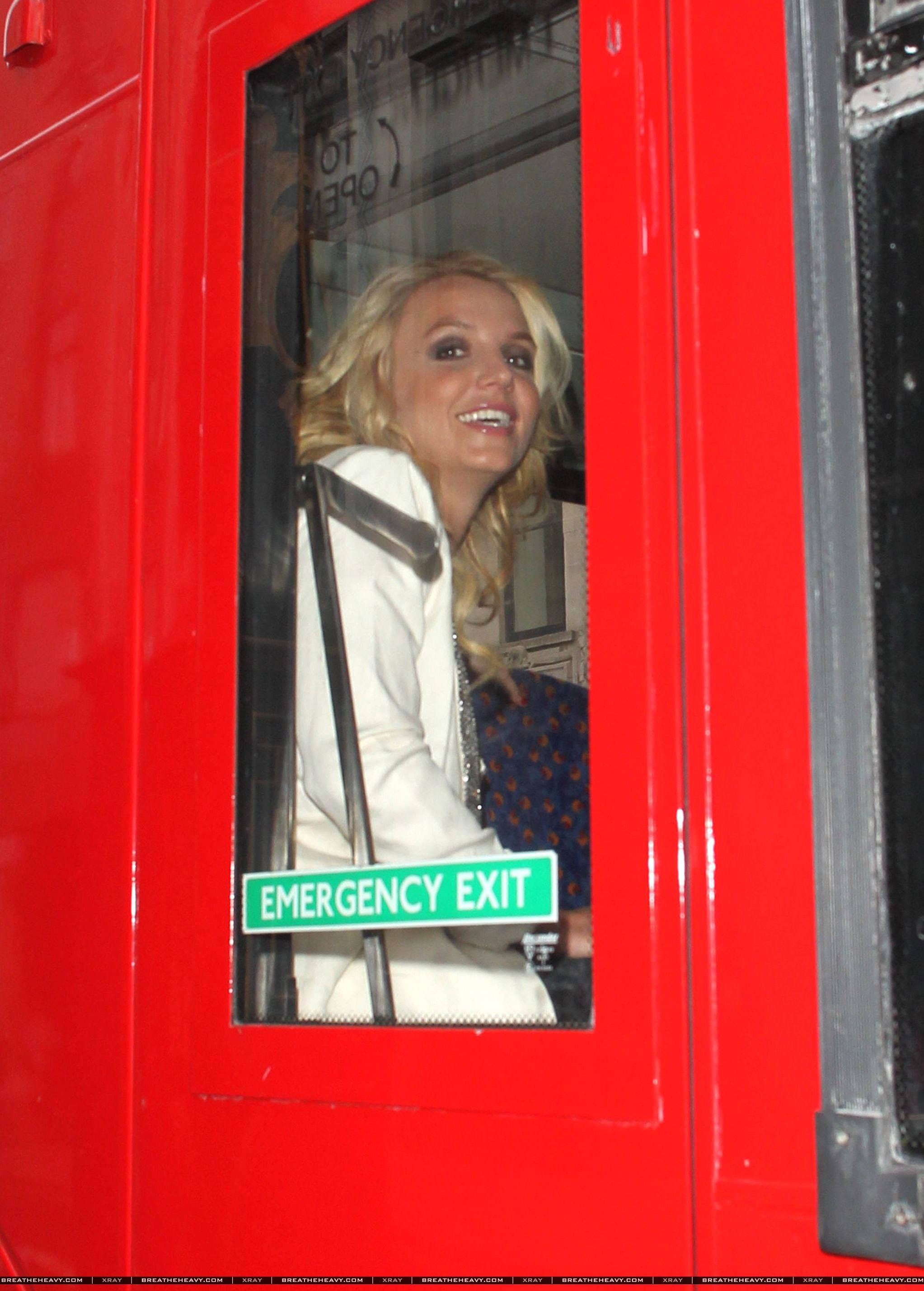 Britney Spears Londra 2013 (3)