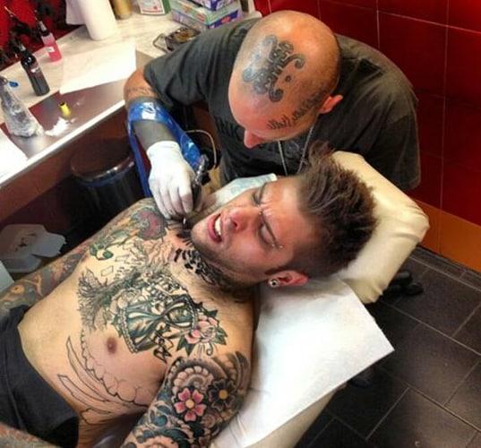 Fedez Tatuaggio