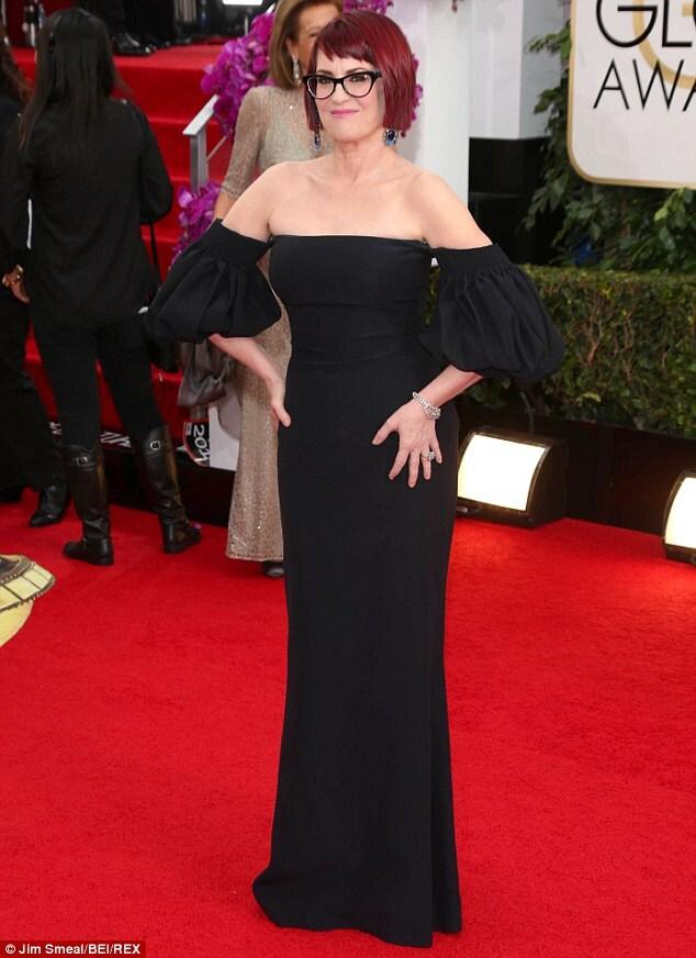 Megan Mullally Golden Globe