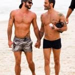 *EXCLUSIVE* Marc Jacobs and boyfriend Harry Louis make it a Beach Day in Rio