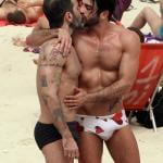Marc Jacobs hits the beach with boyfriend Harry Louis in Rio de Janeiro