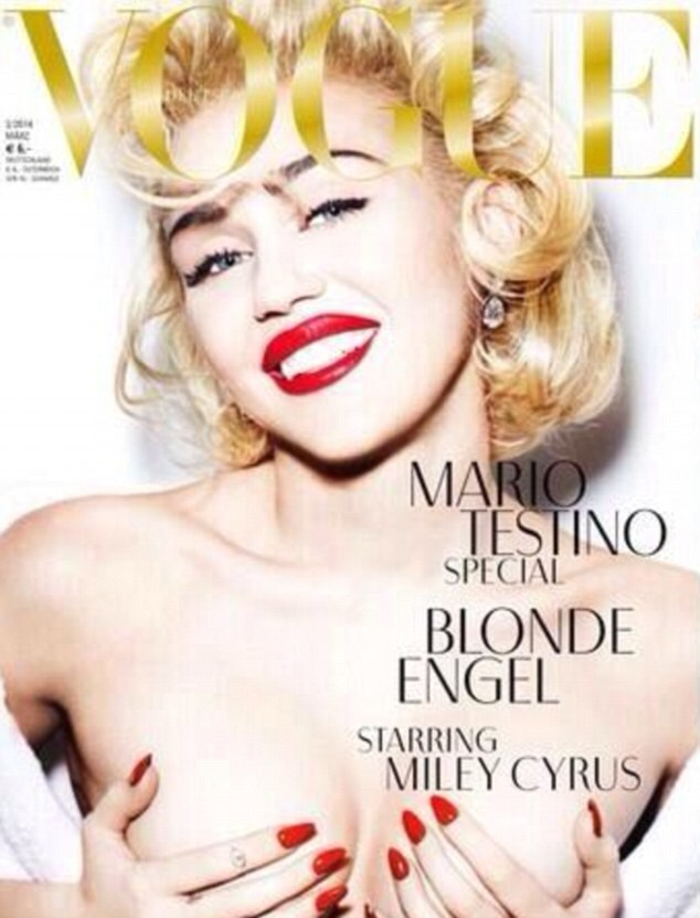 miley cyrus vogue germania