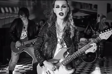 nina moric I love rock n roll video