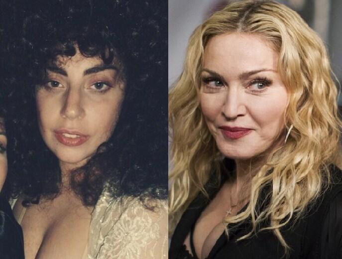 Madonna Lady Gaga