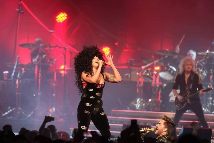 Lady Gaga Queen Adam Lambert (5)