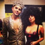 Lady Gaga Queen Adam Lambert (6)