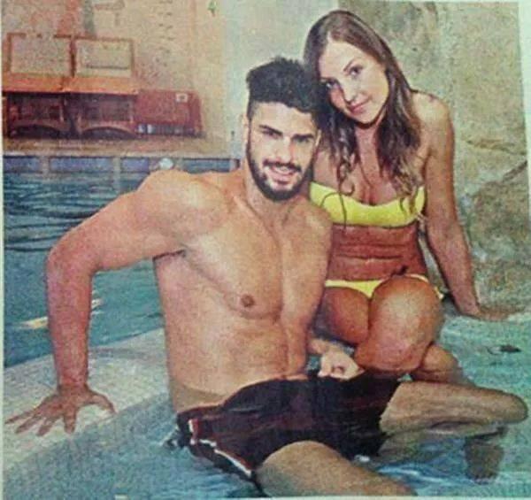 cristian galella tara hot piscina