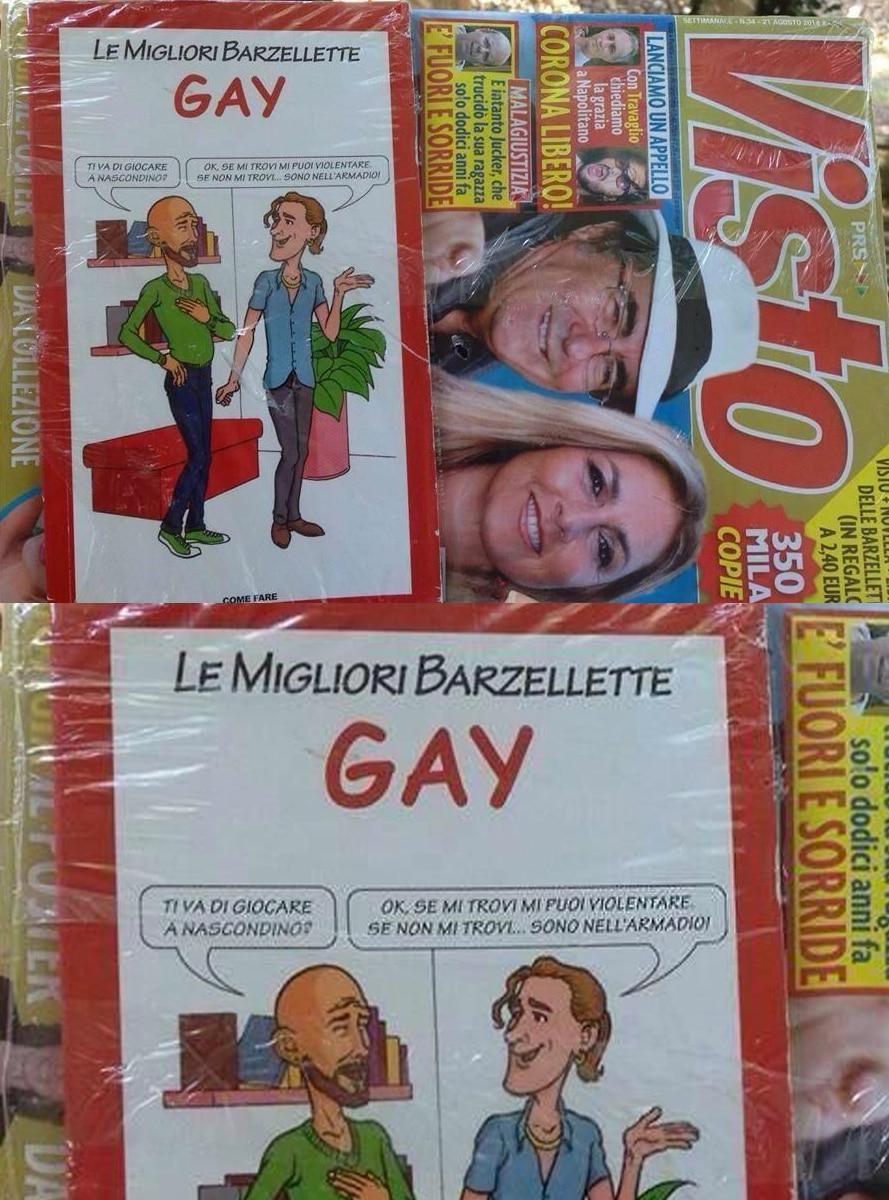 visto barzellette sui gay omofobia roberto alessi