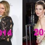 Renee Zellweger botox chirurgia plastica 2013 2014