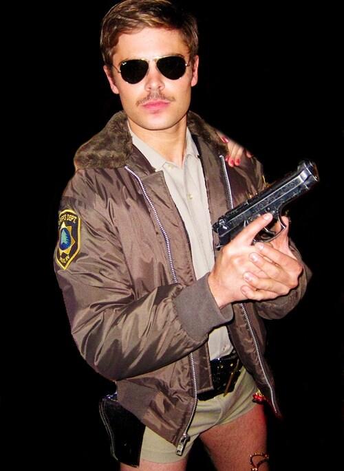 Zac Efron Halloween 2014