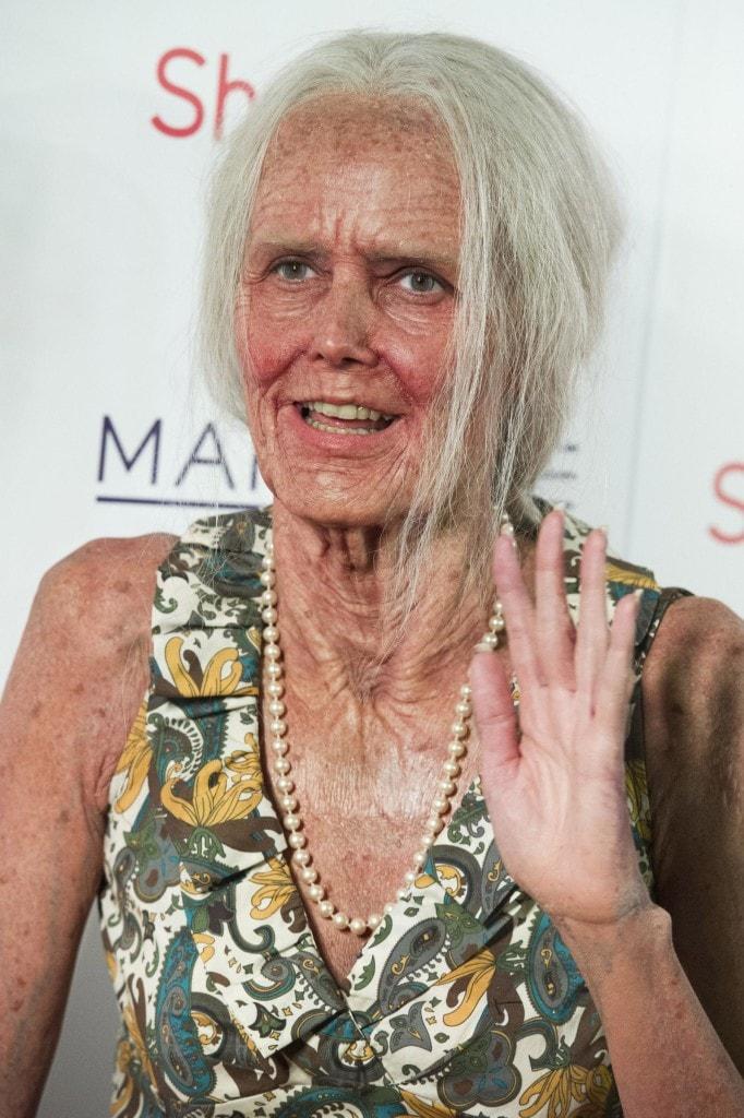 Heidi Klum diventa vecchia per Halloween
