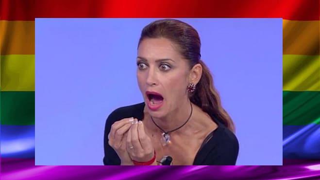 top ten gay Bitchy F Barbara di Uomini & Donne pazza urla Tina