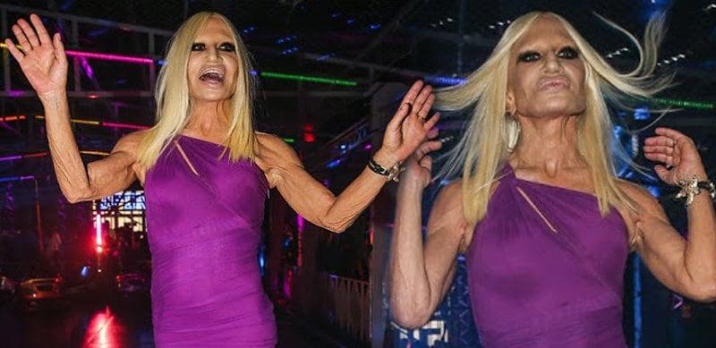 Donatella Versace omg sao paulo san paolo brazil