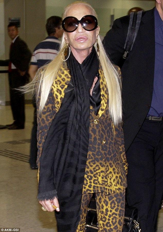 Donatella Versace viso rifatta 2014 (2)