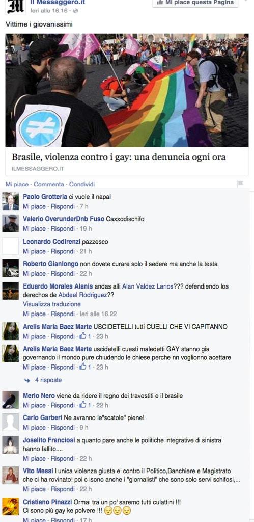 omofobia brasile