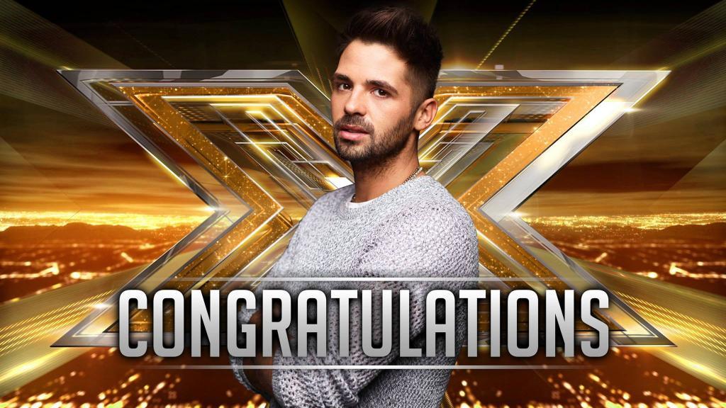 Ben Haenow winner X Factor UK p