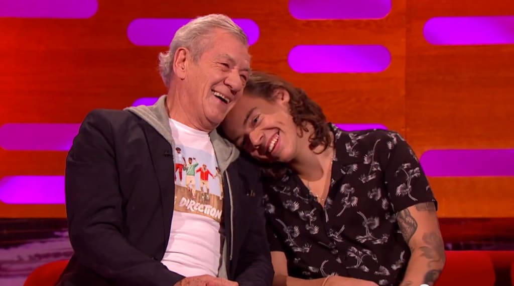 Harry styles gay ian mckellen