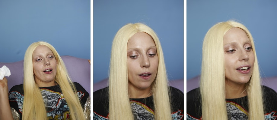 Lady Gaga without Photoshop