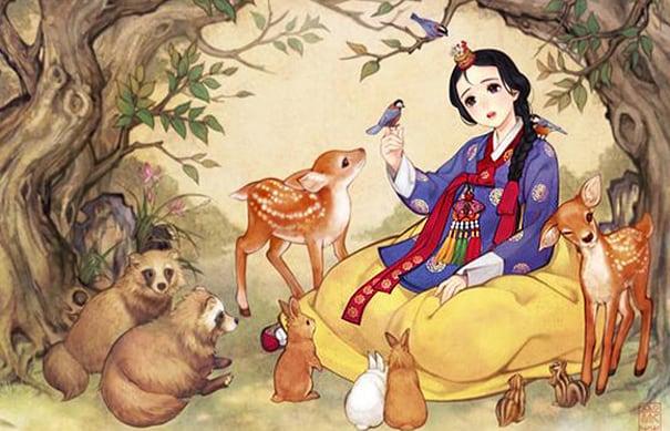principesse disney asia