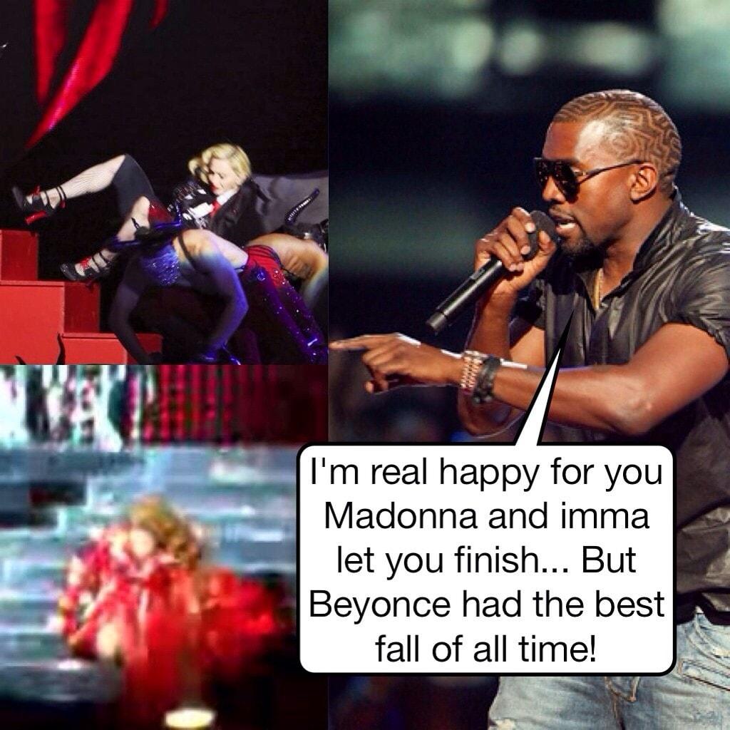 Madonna caduta meme (1)