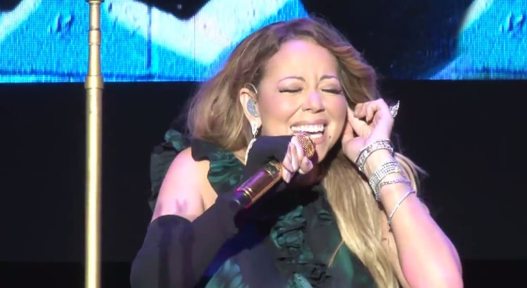 Mariah Carey jazz jamaica concert