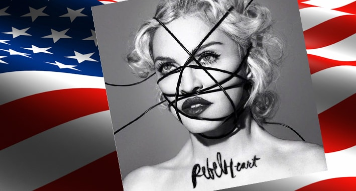 madonna rebel heart debut usa sales copies