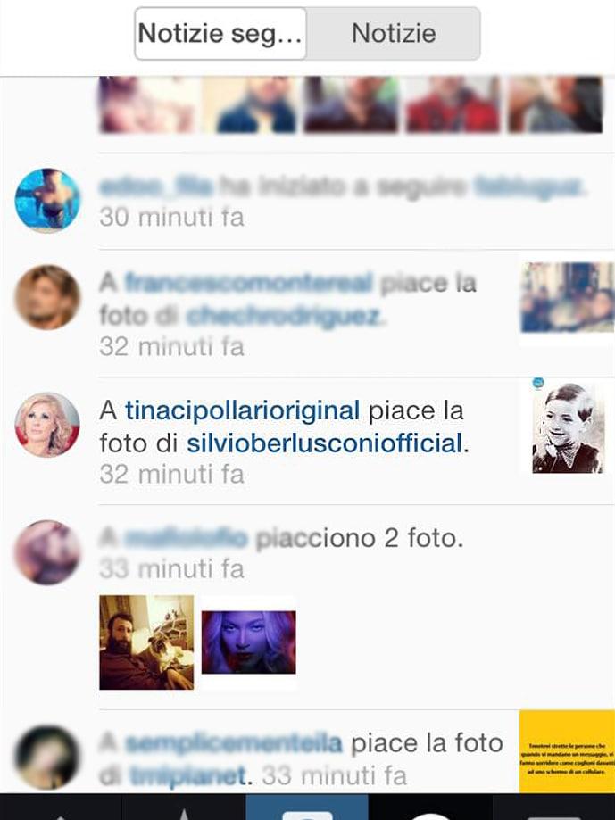 Tina cipollari silvio berlusconi instagram