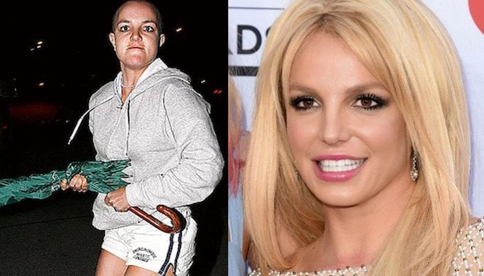 Britney past intimidated billboard awards