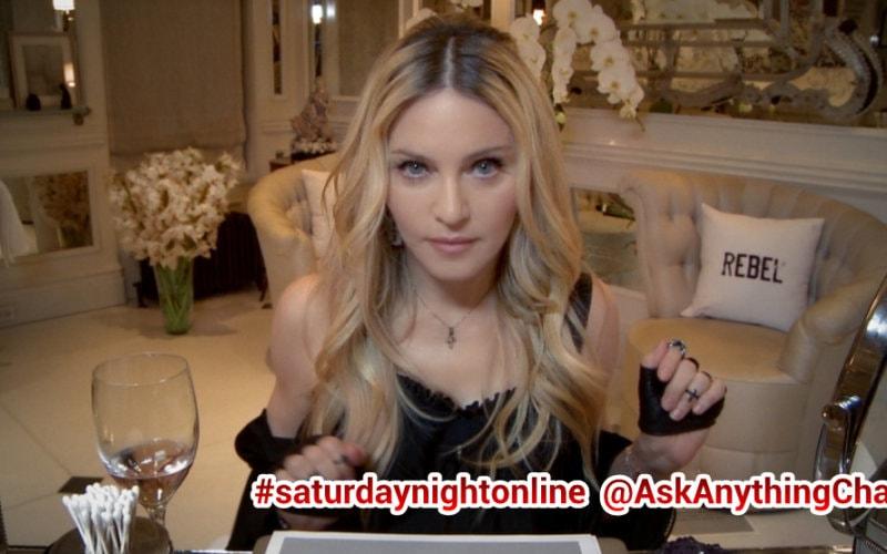 Madonn ayoung snl Q&A