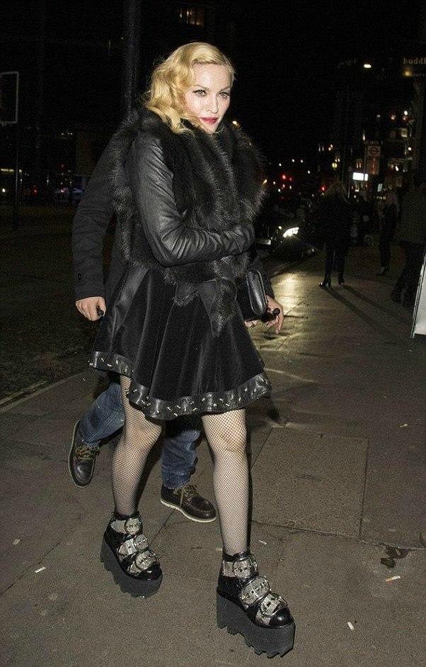 Madonna-scarpe