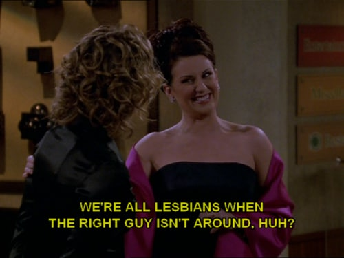 lesbiche karen walker