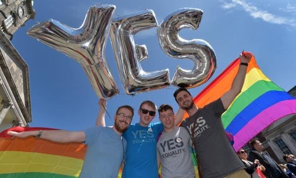 yes ireland gay referendum