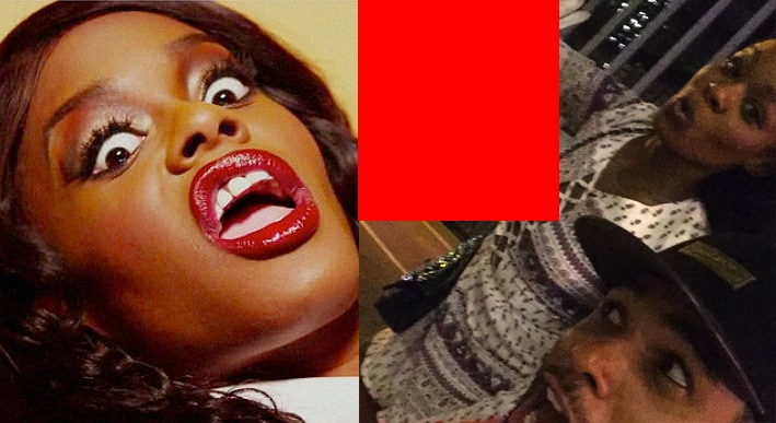 Azealia-Banks-crazy-eyes tongue lips funny