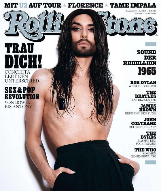 Conchita wurst rolling stone