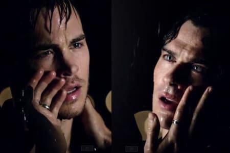 ian chris wood gay kiss kissing vampire