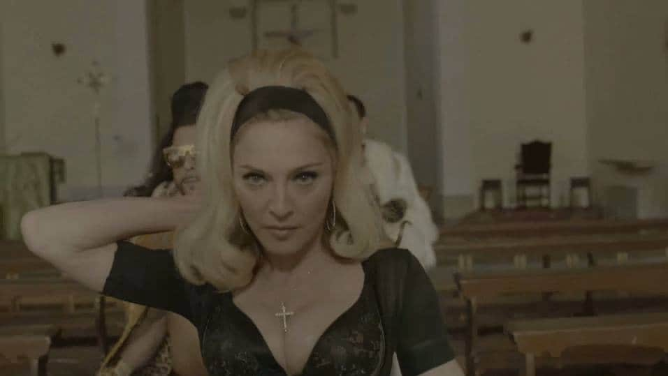 Madonna-church-turn-up-the-radio