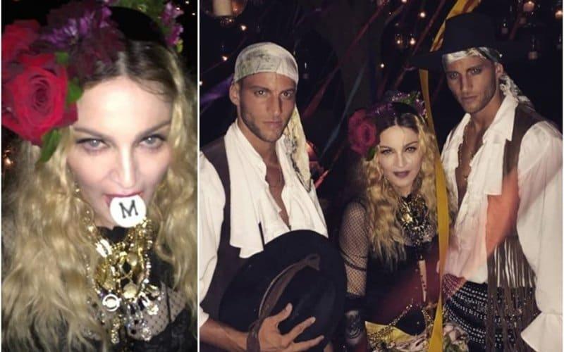 Tutte Le Foto Del Sobrio Compleanno Di Madonna Bitchyf