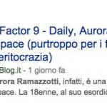 x factor aurora