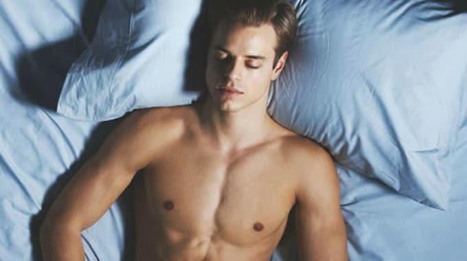 man-sleeping-hot