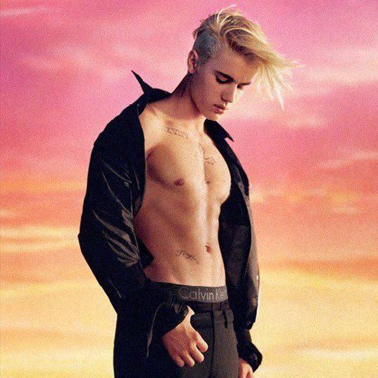 Justin Bieber #MyCalvins 4