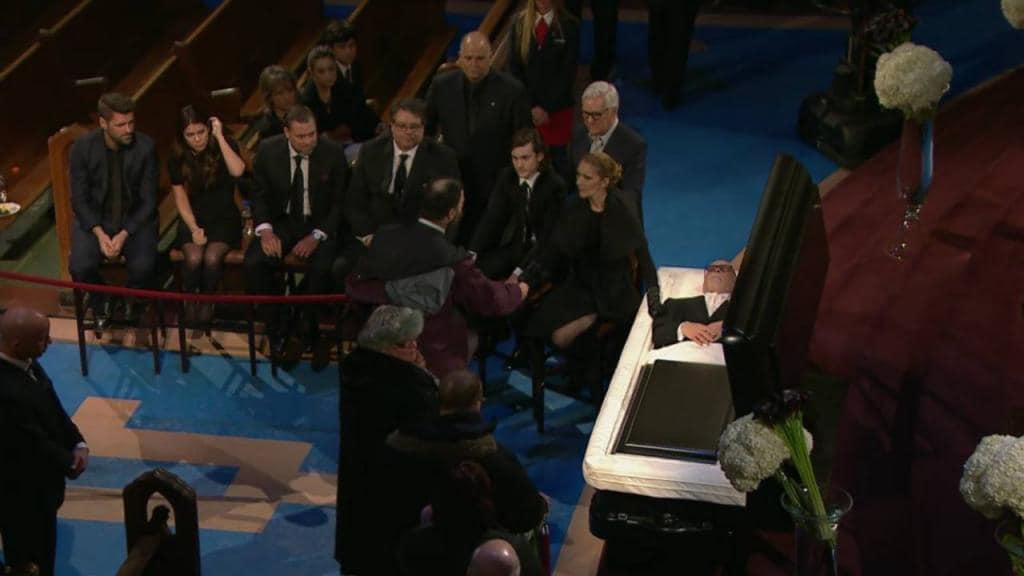 celine dion funerale 3