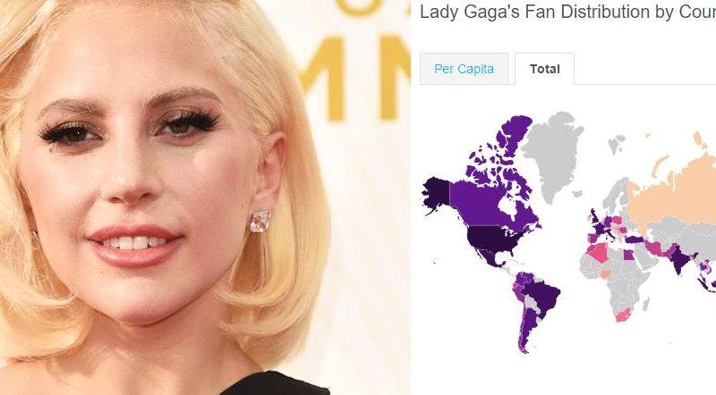 lady gaga fan nel mondo