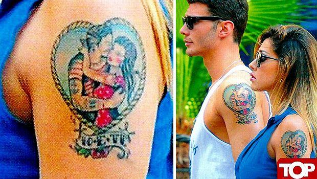 belen tattoo braccio