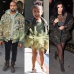 Kim Kardashian Kanye West e North West (8)