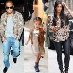 Kim Kardashian Kanye West e North West (9)
