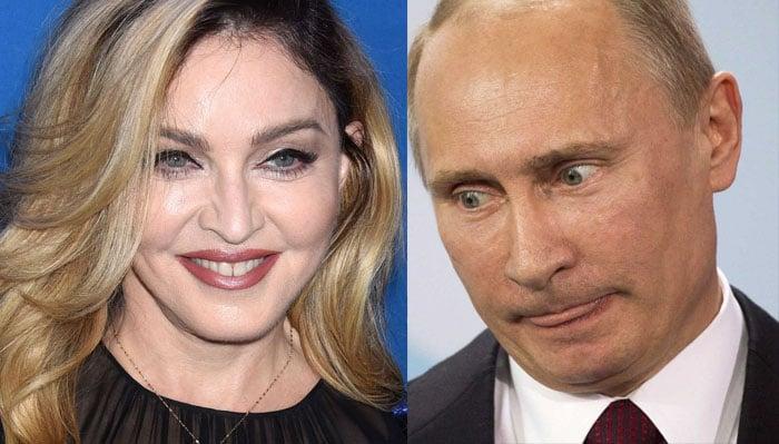 Putin-Madonna