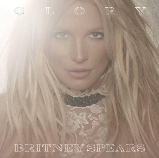 Britney Spears Glory cover Album